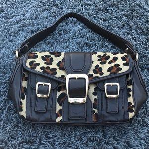 Antonio melani calf hair purse